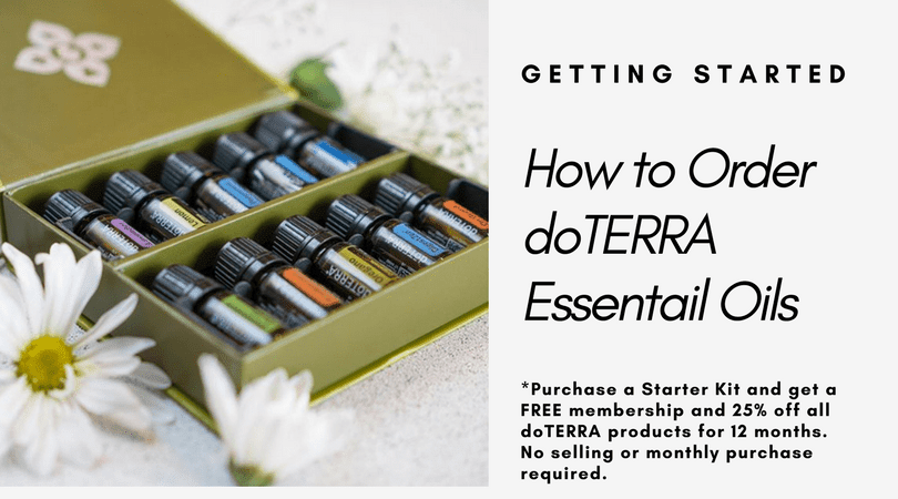 How To Order  dōTERRA Essential Oils