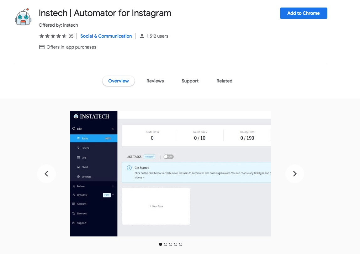 Instech | Automator for Instagram