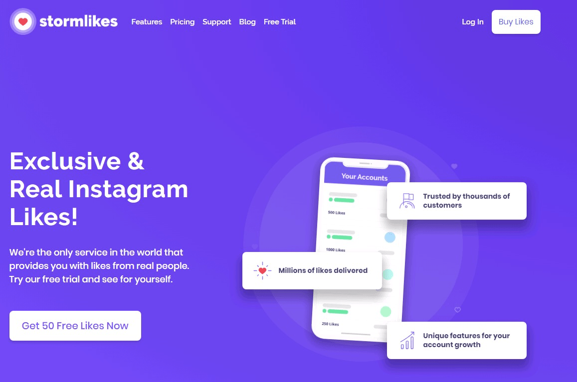 StormLikes allegedly offers Real Instagram Likes
