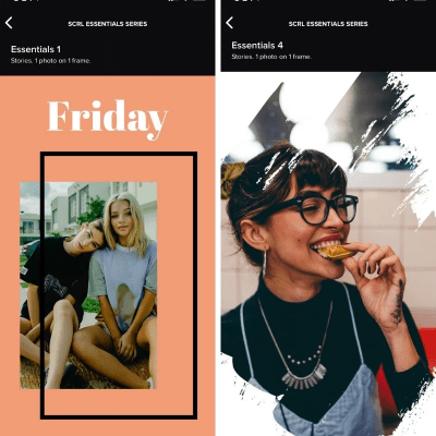 SCRL Insta Story Templates