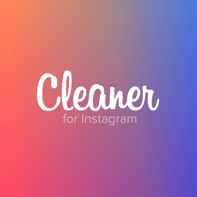How to get rid of ghost followers on instagram with the Cleaner for Instagram app