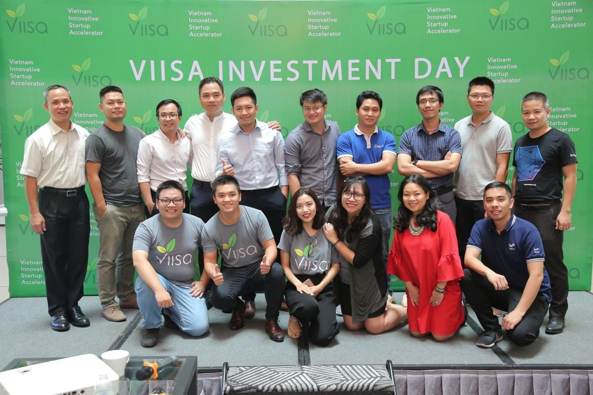 Startups in Batch 4 and portfolio companies at 4th VIISA Investment Day