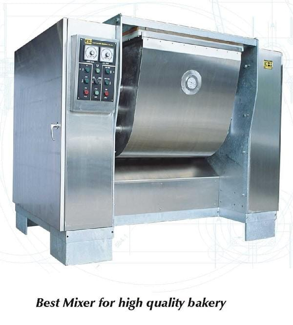 horizontal mixer sigma arm for mixing dough like cookie dough wire cut dough, soft biscuit