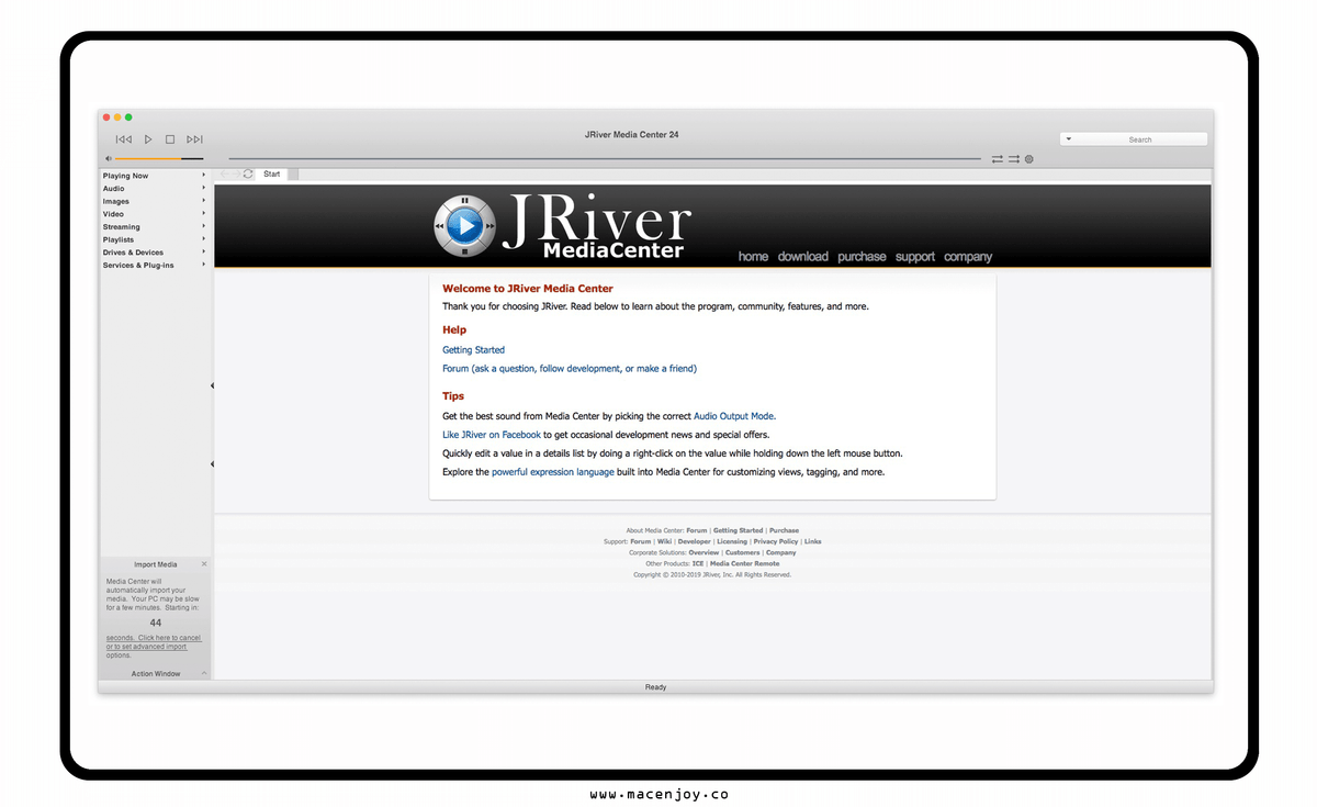 JRiver Media Cente Pro For Mac