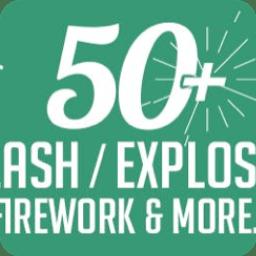 Splash Explosion 4k For Mac 51个圆圈扩散飞溅爆炸mg动画图形4k视频素材 带透明通道 插件