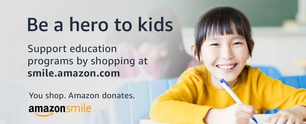 Make Kairos your Amazon Smile charity and Amazon will donate every time you shop through the website, at NO cost to you!