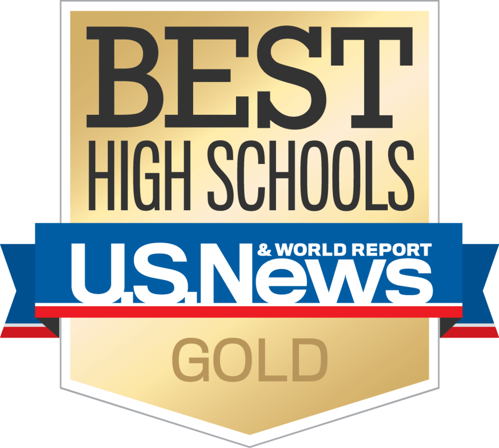 U.S. News and World Report gold award best school in America for Kairos Academies, charter public schools in St. Louis.