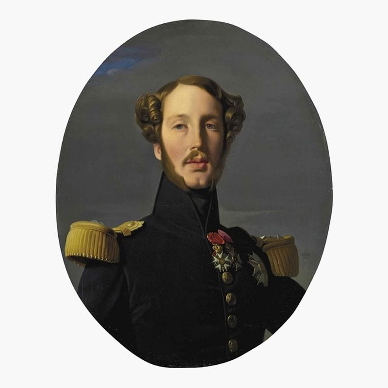 Jean-Auguste-Dominique Ingres, Portrait of Ferdinand-Philippe-Louis-Charles-Henri of Bourbon Orleans, Duke of Orleans. Oil on canvas. 29 3/8 x 23 7/8 in. (74.5 x 60.5 cm.). Estimate: $400,000-600,000. This work is offered in the Revolution sale on 13 April at Christie's in New York