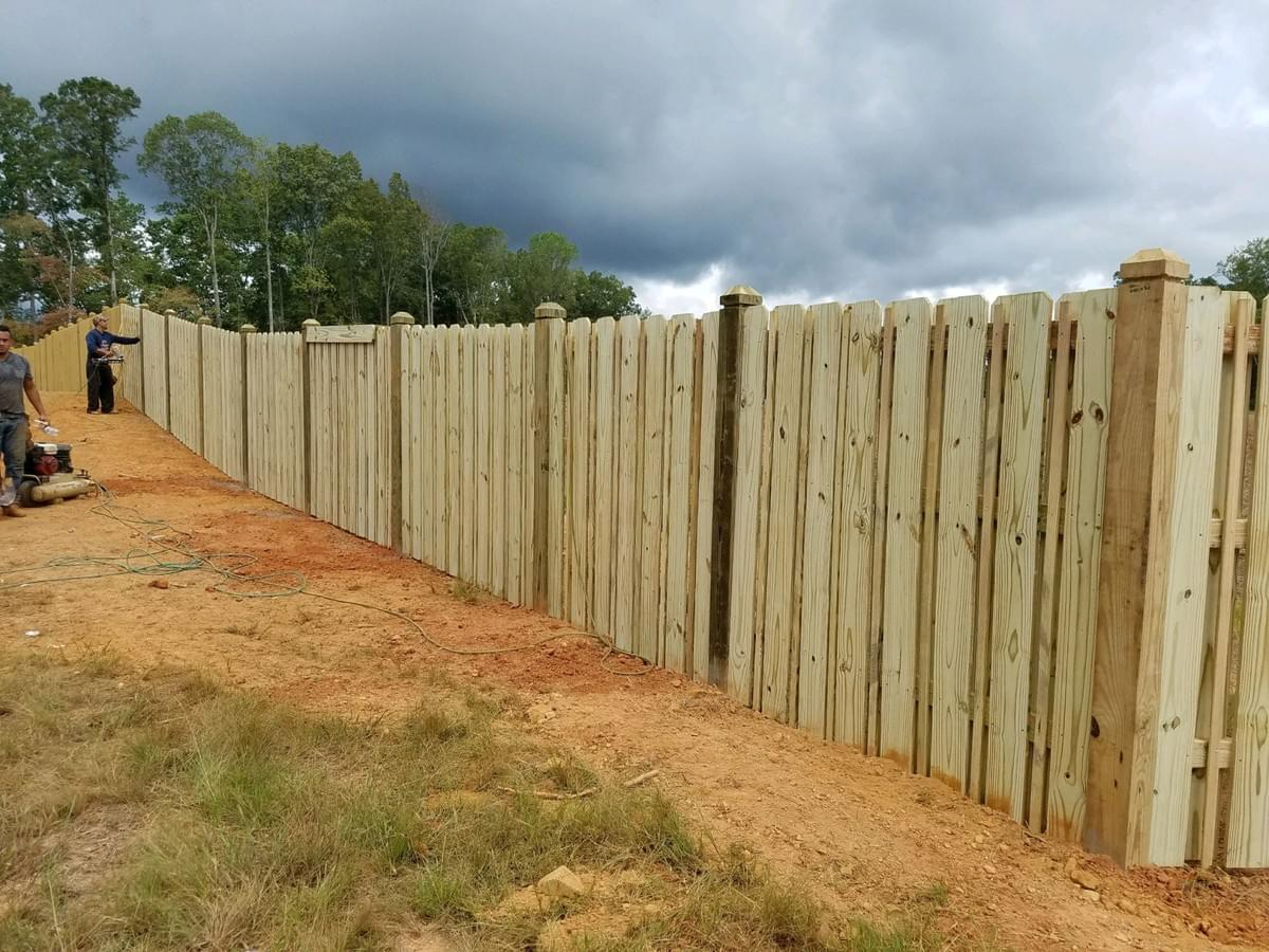 Different Types Of Wood Fence