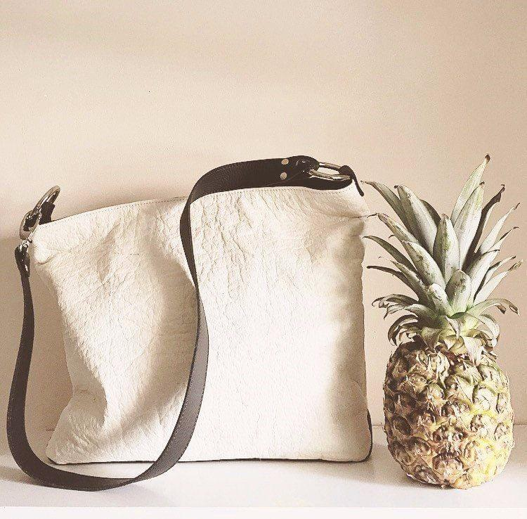 A pineapple leather bag