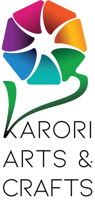 Karori Arts Crafts new logo - a flower design with petals