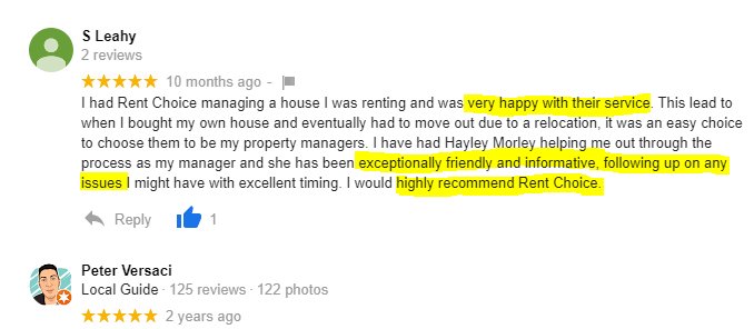 Rockingham property manager review