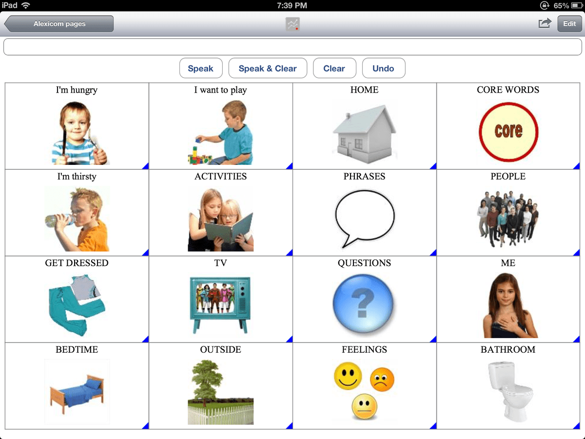 Child Home AAC A voice at home