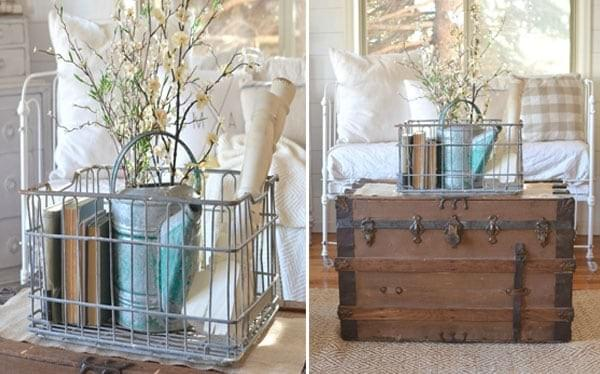 Repurposing An Antique Trunk