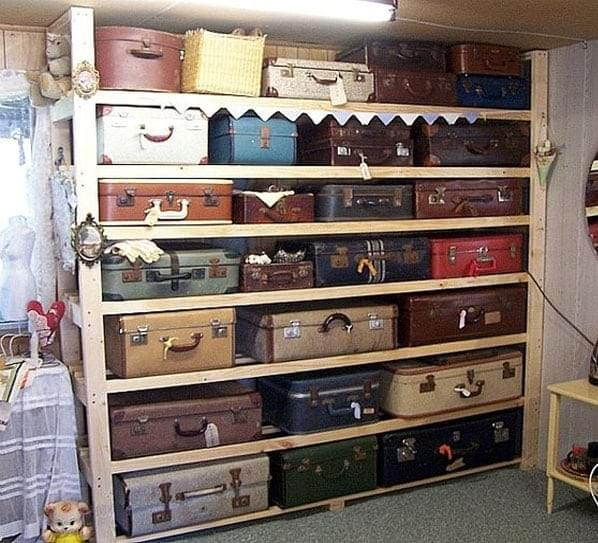 Repurposing Antique Luggage