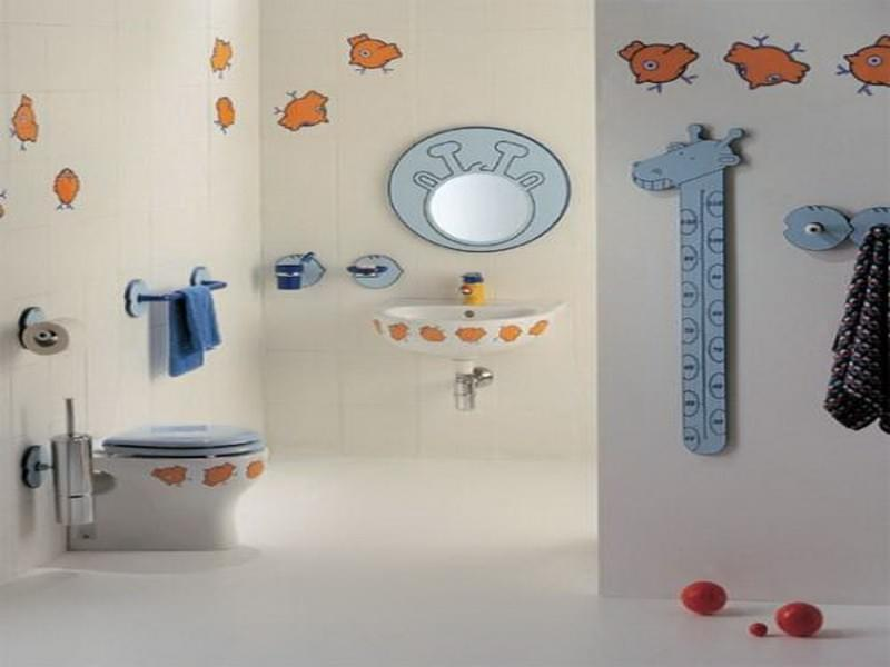 5 Tips To Decorate A Child's Bathroom