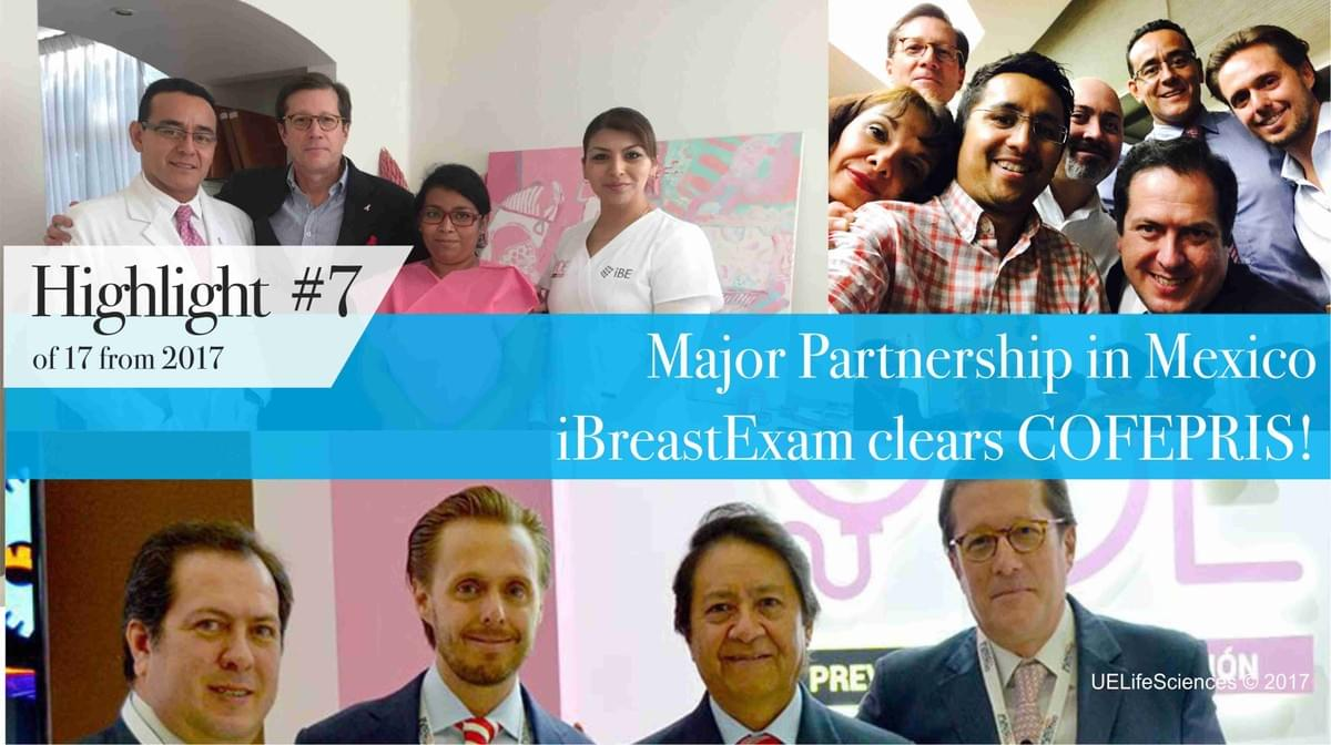 iBreastExam receives Mexico COFEPRIS approval