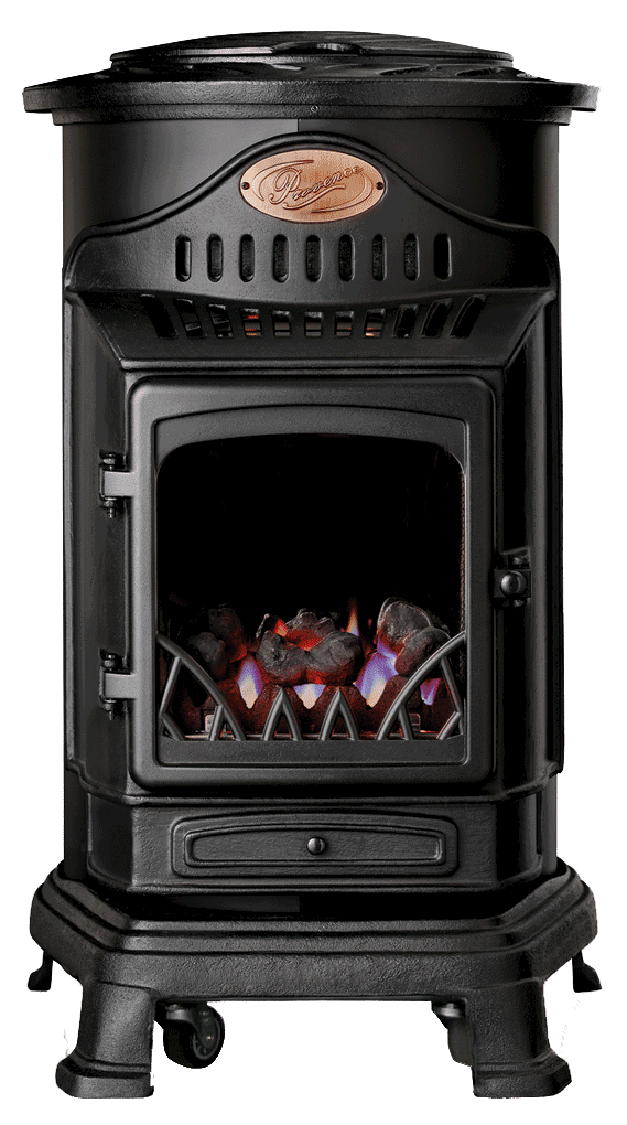 UI Provence Portable Real Flame Fire available in a choice of finishes from M&G Energy, Pembroke Dock