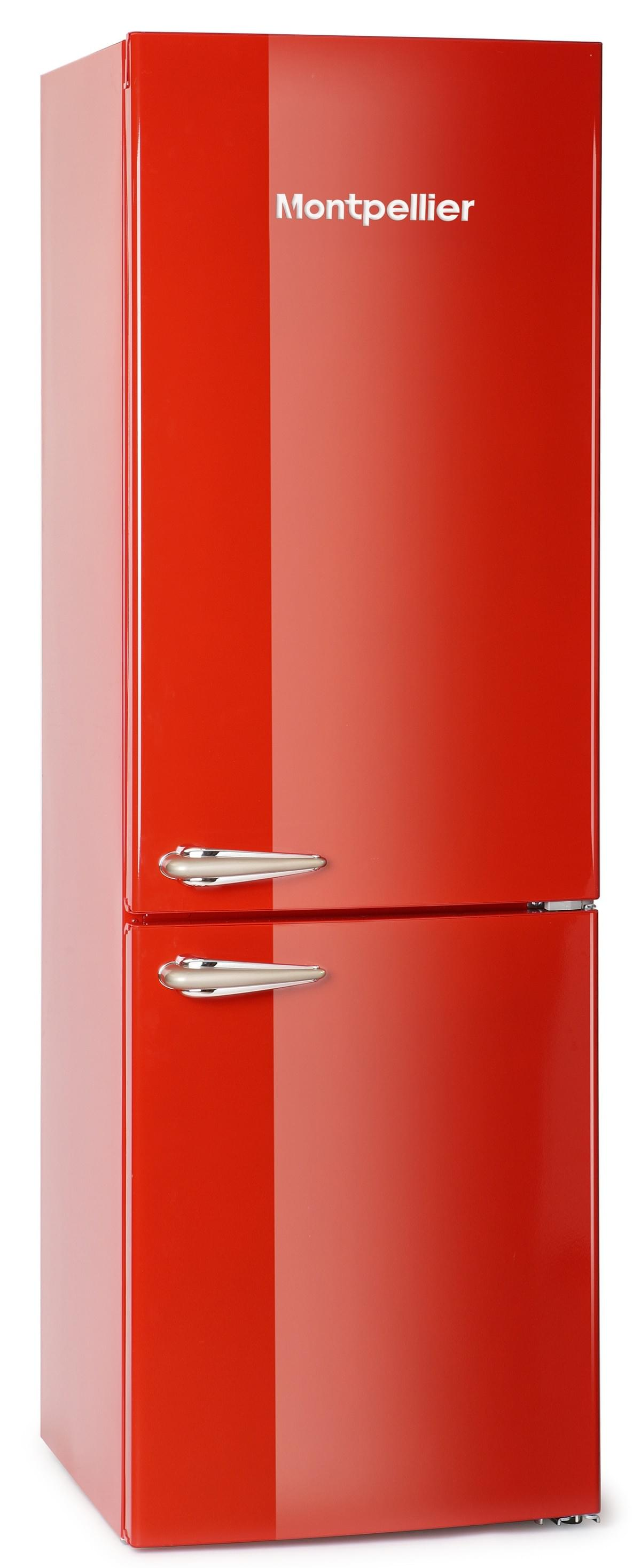 Montpellier retro colour fridge freezers in stock at M&G Energy