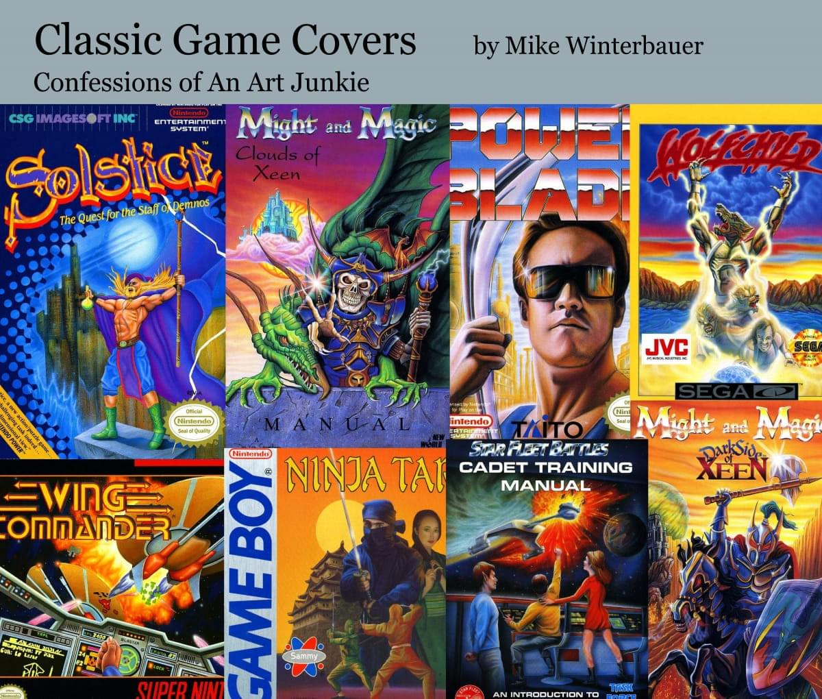 Free Classic Game Covers eBook!
