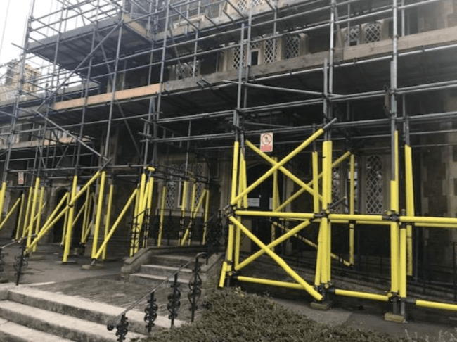 Mattison Scaffolding Ltd: Grade II Listed Building Safety Inspection