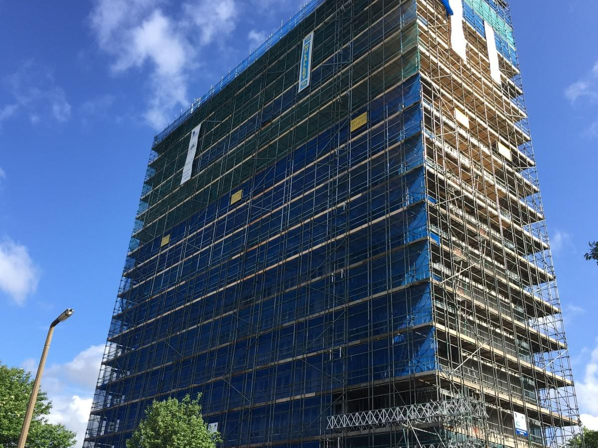 Contract scaffolding in London