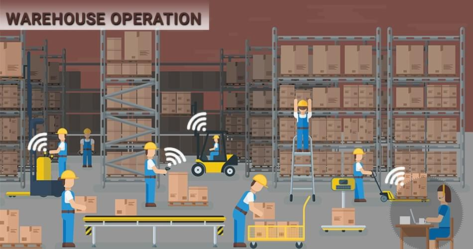 IoT-for-warehouse-transformation