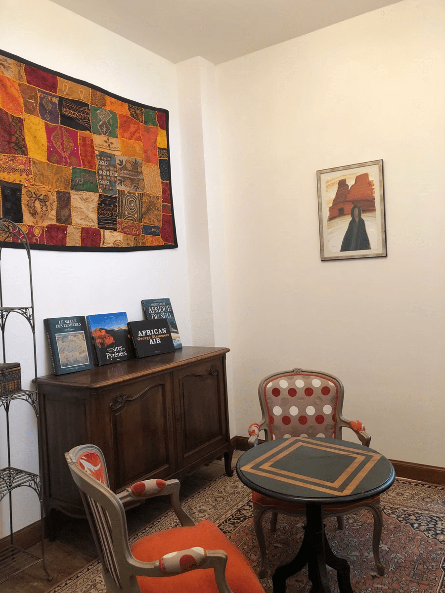 reading and playing room