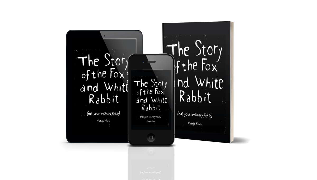 The Story of the Fox and White Rabbit by Mateja Klaric