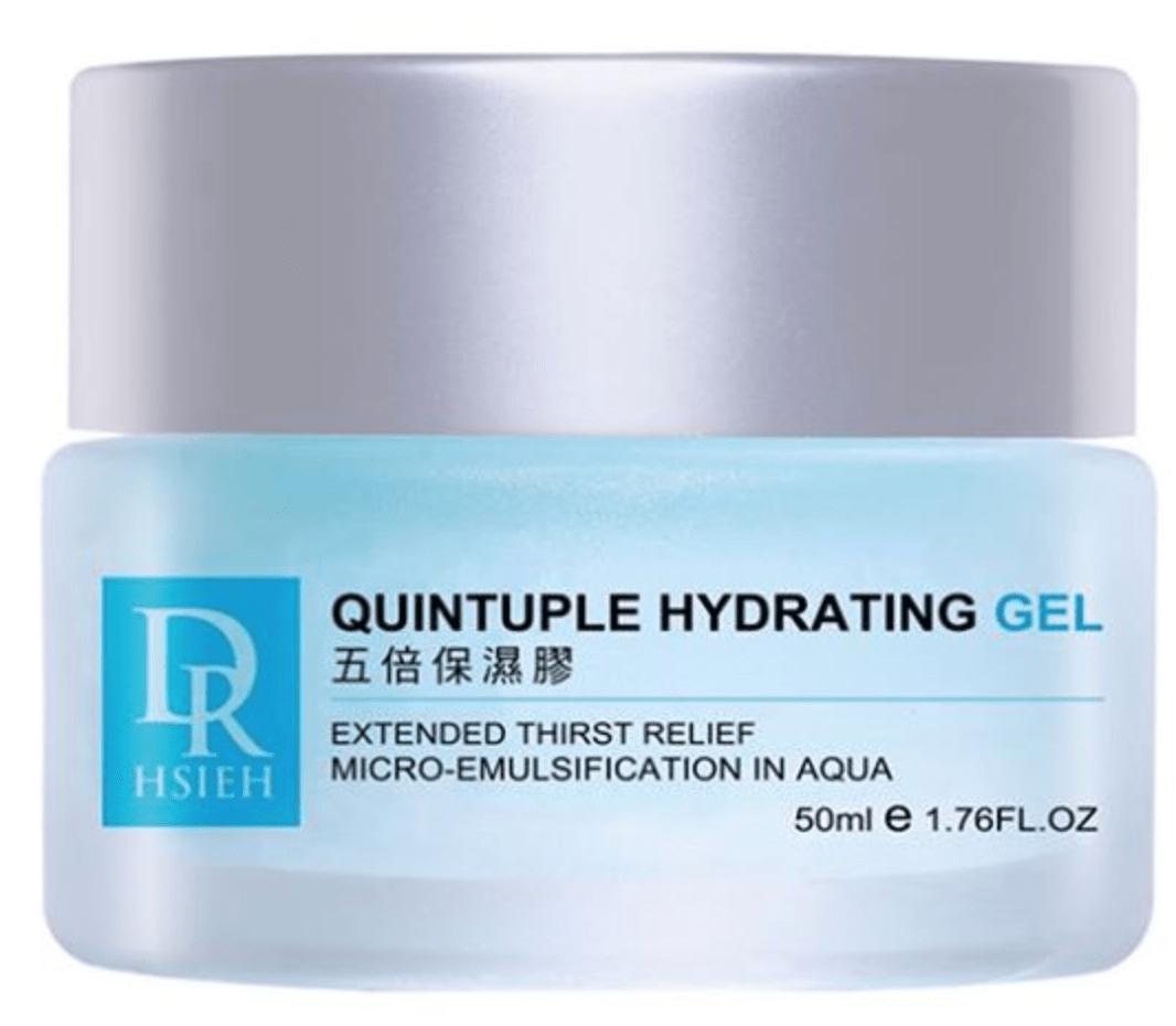 Quintuple gel skincare halal