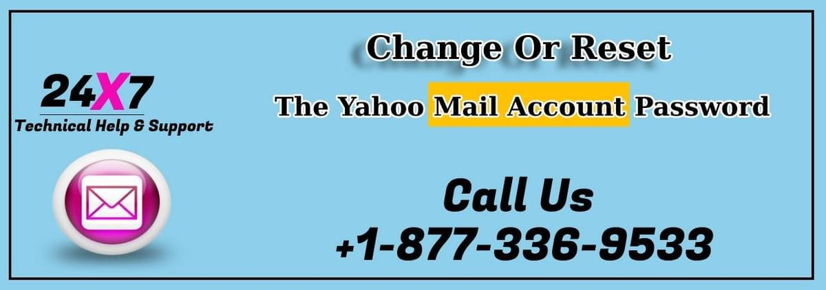 Change Or Reset The Yahoo Mail Account Password