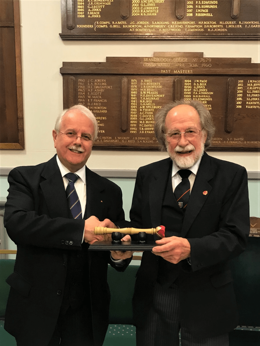 The Most Excellent Grand Superintendent, E. Comp. John M Phenix, handed the Scepter to the MWS, E. Comp. Peter Rodwell at their Installation Convocation on Monday 14th October. Brandwood Chapter next meet on Monday 9th December and any Chapter that wishes to lay claim to the Sceptre must attend as Visitors with a minimum of 3 Companions from that Chapter. Note: Worcestershire Installed 1st Principals are Excluded!!! Should more than 1 Chapter attend with the requisite number or more, the Sceptre will be presented to the Chapter that has the newest member of the Chapter in attendance. Therefore Companions here is an ideal opportunity to encourage your newly Exalted Companions to get a taste of our Order in another Chapter..