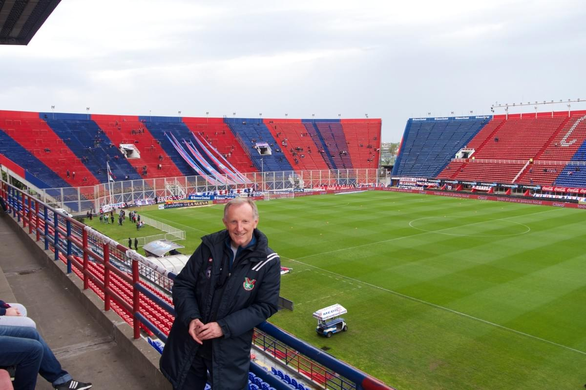 San Lorenzo Stadium  October 2016