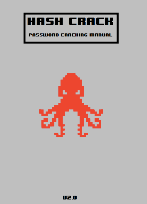 Hash Crack v2.0 Password Cracking Manual cover