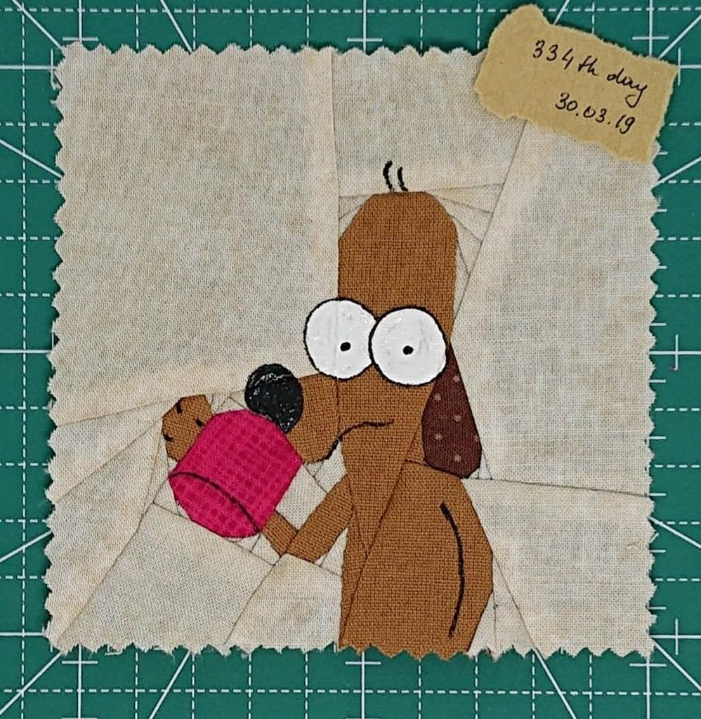Homer the dog. (image courtesy of Olesya Lebedenko)