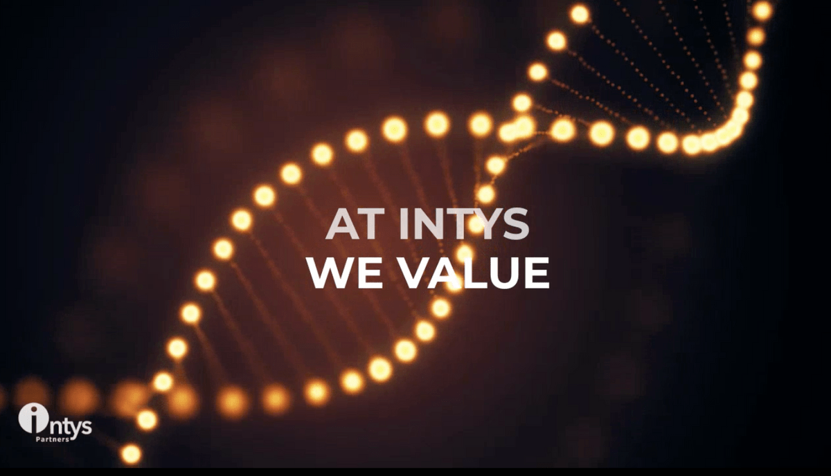 AT INTYS WE VALUE - VIDEO