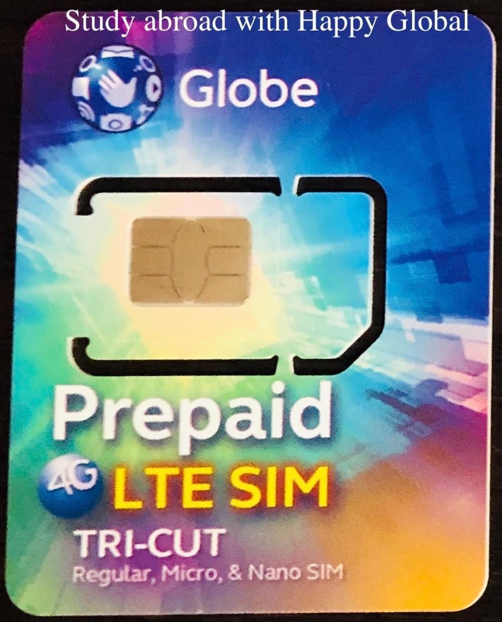 菲律賓電信『Globe』手機上網方案&儲值教學- 菲律賓電信海培國際菲律賓遊學
