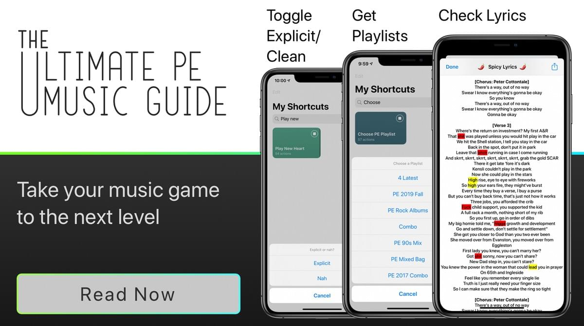 Ultimate PE Music Guide