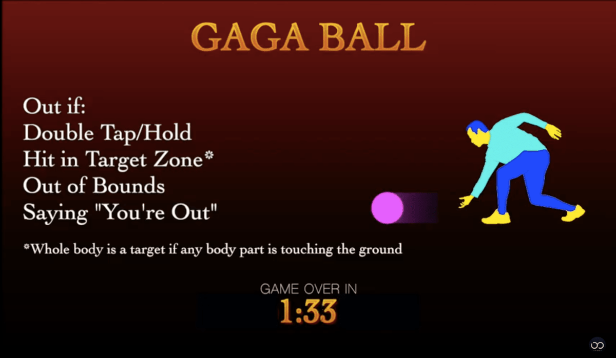 Gaga Ball Elimination Timer on YouTube