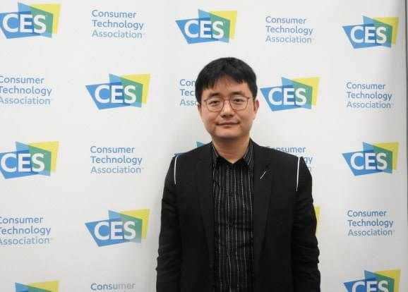 Cheetah Mobile Sheng Fu at CES 2018.