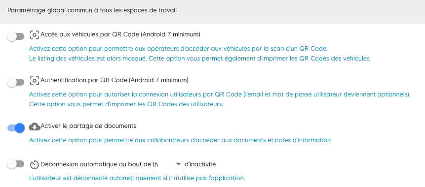 comment activer le porte-document