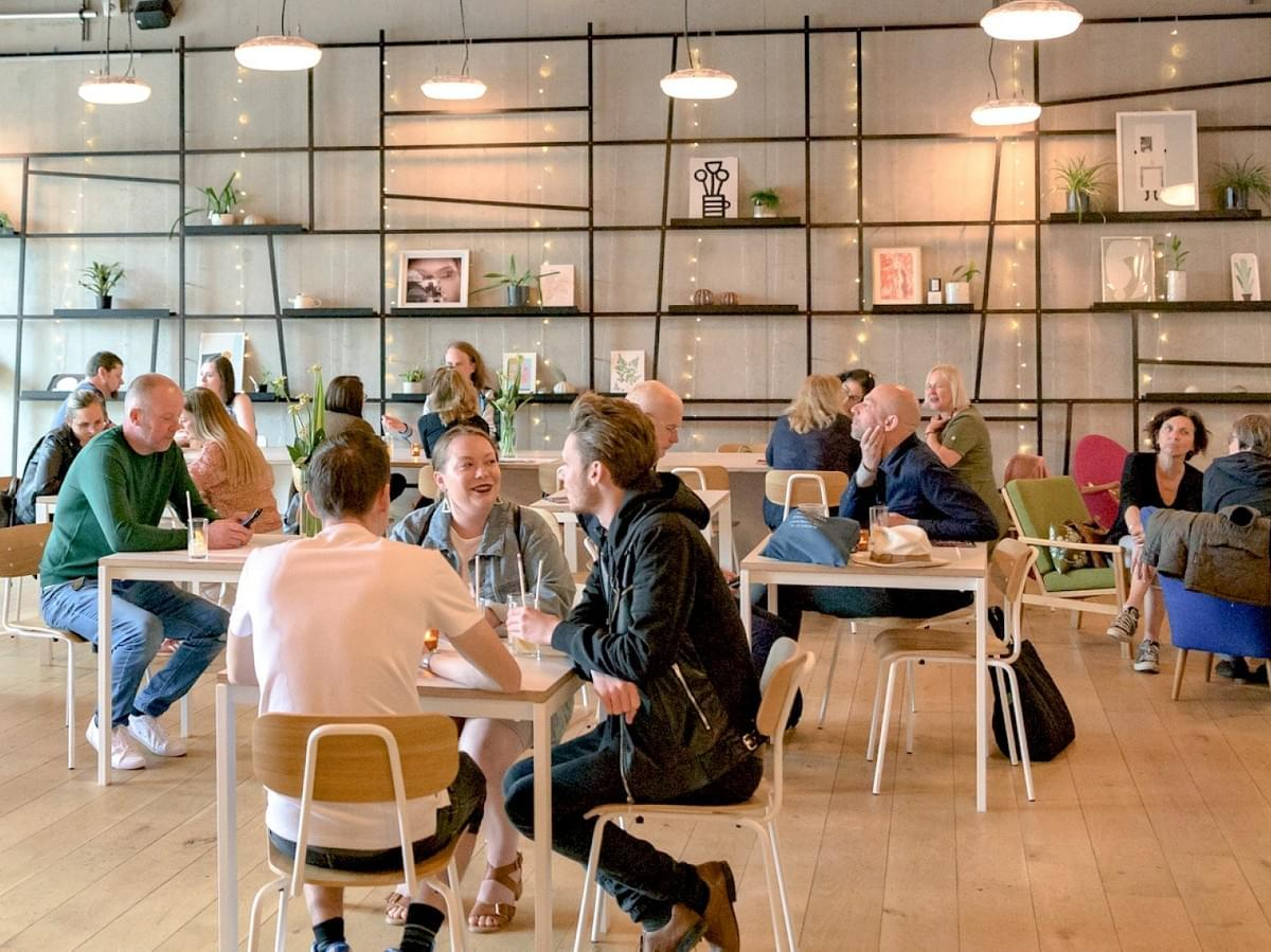 Nottingham Contemporary Cafe Bar - Great for an informal lunch or quick meeting nearby Works Social