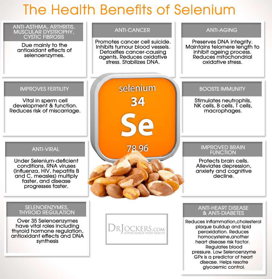 selenium supports your immune system