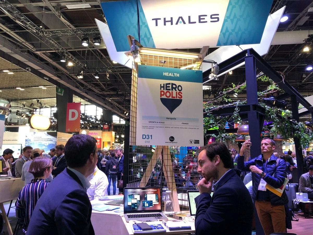 Heropolis, salon startups, vivatech, le village by ca paris, salon tech