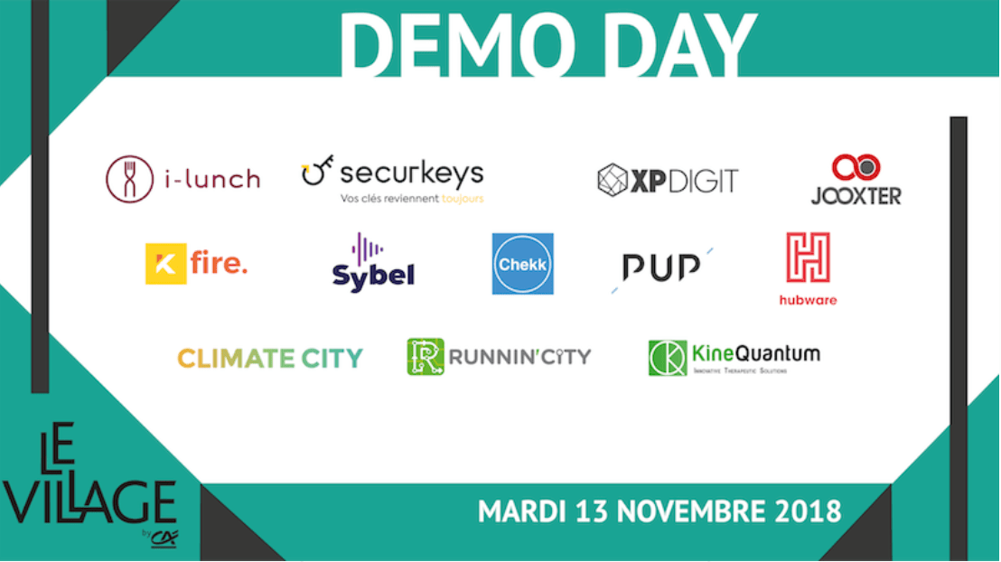demo day, village by ca, village by ca paris, pépites startups, investisseurs startups, levé de fonds