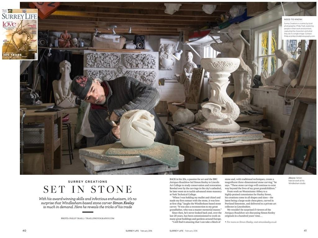 se in stone surrey philip traill creations photographer