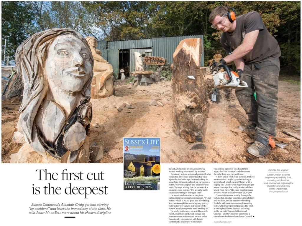 wood cut saw first art saw sussex life magazine