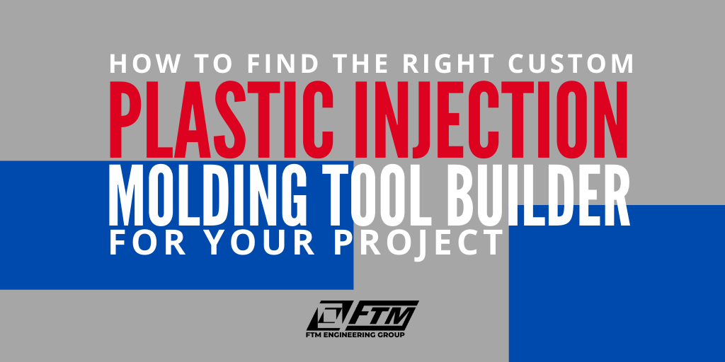 Plastic injection molding tool builder