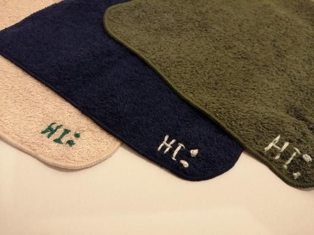 hand towel random one in 3 colors  w/ handmade stetch
