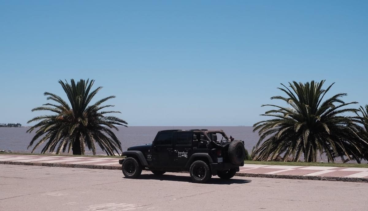 Pan American road trip Jeep